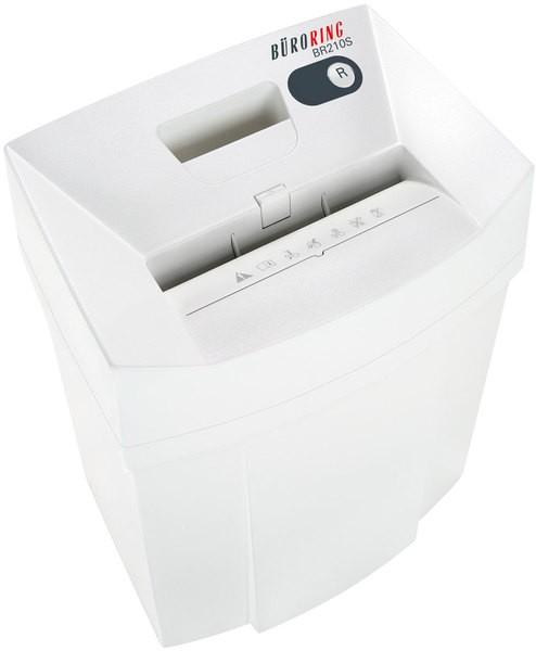 Büroring BR210S Aktenvernichter in weiß