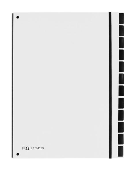 Pultordner 12 Fächer, weiß