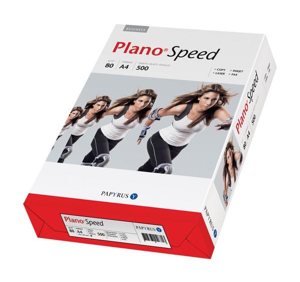 Kopierpapier PlanoSpeed A4 80g weiß, Multifunktionales Büropapier