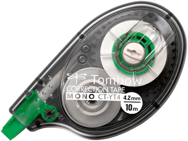 Korrekturroller Mono 4,2mm Bandlänge 10m