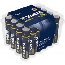 Batterie Micro Energy AAA, 24er Pack, LR03, 1,5V