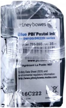 Eingepackte Pitney Bowes Farbkartusche