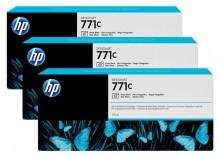 Tintenpatrone 771C foto schwarz 3er-Pack, Standardkapazität 3x775ml