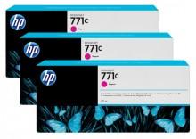 Tintenpatrone 771C magenta 3er-Pack, Standardkapazität 3x775ml