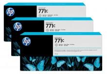 Tintenpatrone 771C hell grau 3er-Pack, Standardkapazität 3x775ml