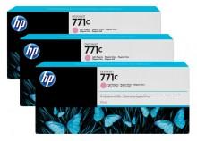 Tintenpatrone 771C hellmagenta 3er-Pack, Standardkapazität 3x775ml