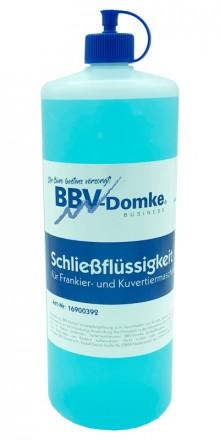 BBV-Domke Schließflüssigkeit / Sealing Fluid / Kuvertierflüssigkeit, 1 Liter