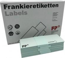 Frankieretiketten für Postbase