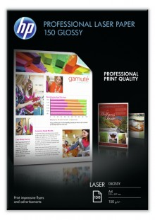 Laserpapier professional A4 150g weiß glänzend