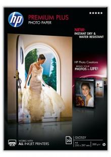Fotopapier Premium Plus A4 300g weiß glänzend