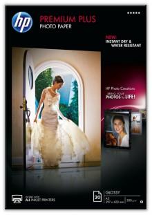 Fotopapier Premium Plus A3 300g weiß glänzend
