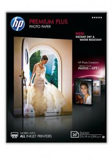 Fotopapier Premium Plus 13x18cm 300g weiß glänzend