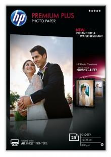 Fotopapier Premium Plus 10x15cm 300g weiß glänzend