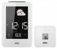 Funk-Wetterstation weiß Innen-/Außen-Thermo-/Hygrometer