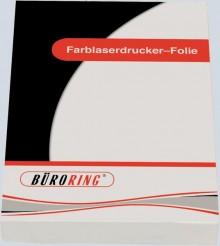 Büroring Kopier-und Laserdruckfolie A4, 100my, hitzebeständig