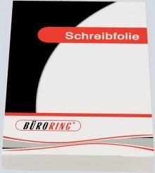Büroring Schreibfolie, Standard A4, 100my, glasklar, transparent