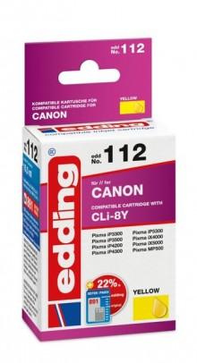 Edding Tinte 112 Canon CLI-8 gelb Ersetzt: Canon CLI-8Y