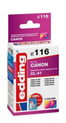 Edding Tinte 116 Canon CL-41 farbig Ersetzt: Canon CL-41