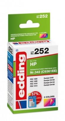Edding Tinte 252 HP 342 farbig Ersetzt: HP C9361EE, No.342