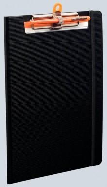 Klemmbrett Exaboard, A4, schwarz Polypropylen, 400g/qm, 23,5x33,5cm