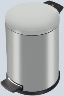 Tret-Abfalleimer ProfiLine Solid silber, 12 Liter