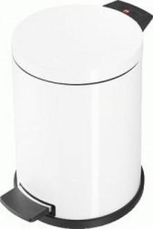 Tret-Mülleimer Solid M, weiß, 12 Liter 12 Liter, Inneneimer Kunststoff