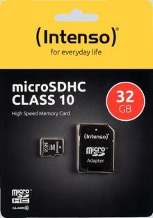 Micro SD Speicherkarte 128 GB, 40 MB/s Class 10, mit Adapter, für Fotos,