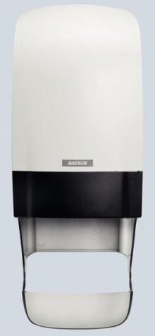 Toilettenpapier-Spender Katrin weiß Inclusive System, Kunststoff
