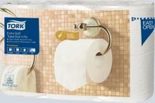 Toilettenpapier Premium 4-lagig, mit Prägung, weiß, weiße Hülse