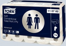 Toilettenpapier Advanced 3-lagig, mit Prägung, weiß