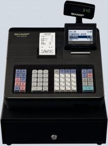 Kasse XE-A207BD schwarz 1 Thermodruckwerk,57,5mm