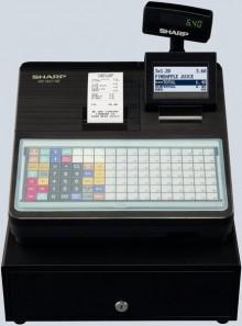 Kasse XE-A217 schwarz 1 Thermodruckwerk,57,5mm
