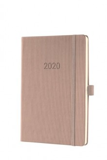 Wochenkal. Conceptum 2021 1W/2S A5, 2021, A5, 148x213x20mm, taupe,