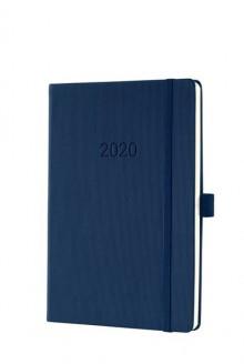 Wochenkalender Conceptum 1W/2S, 2021 148x213x20mm, midnight blue