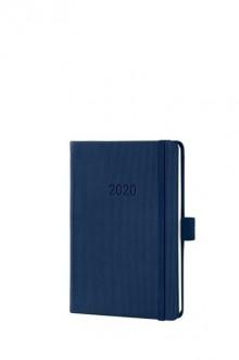 Wochenkalender Conceptum 1W/2S, A6, 2020 108x151x19mm, midnight blue