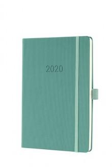 Wochenkalender Conceptum 1W/2S, 2020, A5, 148x213x20mm, jade green