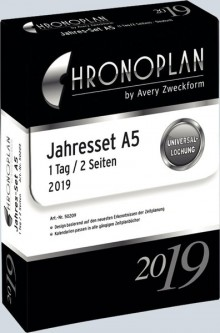 Chronoplan A5 Jahresplan 2021