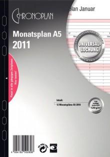 Chronoplan A5 Monatsplan 2021