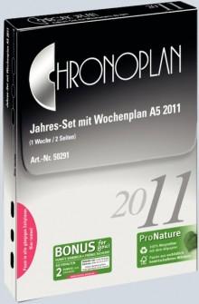 Chronoplan Jahresset A5 2021 53 Wochenpläne 1 Woche/2 Seiten