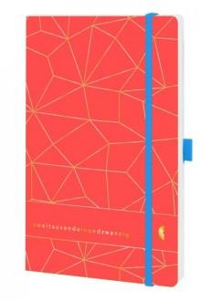 Chronobook Origin A5 1Woche/2Seiten, Latice, Lux Coral, 2021