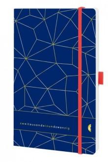 Chronobook Origin A5 1Woche/2Seiten, Latice, Deep Ocean Blue, 2021