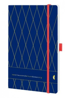 Chronobook Origin A5 1Woche/2Seiten, Vintage, Deep Ocean Blue, 2021