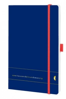 Chronobook Origin A5 1Woche/2Seiten, Elementary, Deep Ocean Blue, 2021
