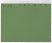 Hängehefter actus Serie A, mit Tasche und Linksheftung (Behördenheftung) grün