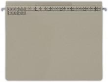 Hängehefter actus Serie D, mit Tasche und Rechtsheftung, grau