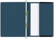 Hängehefter actus Serie D, mit Tasche und 2 Abheftvorrichtungen. dunkelblau