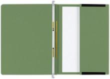 Hängehefter actus Serie D, mit Tasche und 2 Abheftvorrichtungen. dunkelgrün