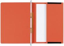 Hängehefter actus Serie D, mit Tasche und 2 Abheftvorrichtungen. orange