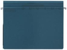Hängehefter actus Serie D, mit Tasche und 2 Abheftvorrichtungen. beidseitig dunkelblau