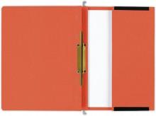Hängehefter actus Serie D, mit Tasche und 2 Abheftvorrichtungen. beidseitig orange